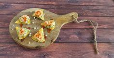 Nachos met guacemole, garnalen en chilisaus. Een supersimpel hapje maar lékker!