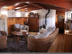 Dutch Klipper Barge 25 metre With London Zone 2 Residential Mooring for sale, 25.55m, 1913 | BoatshedGrandUnion.com