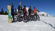 Snowboard, lyže, bicykle - všetci sme si užívali poriadnu jazdu, kreabirdjobox freeride tím