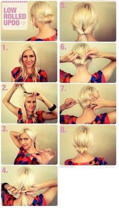 Amazing Pretty Penteados Pinterest Buns Hair And Updo Short Hairstyles Gunalazisus