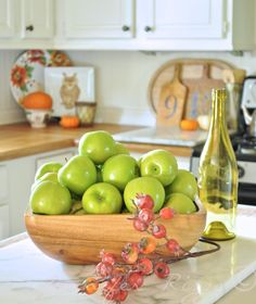 11 Ways to add Fall to your Home | Decorate with Apples from Jennifer Rizzo