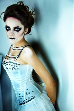 Bride Makeup 2018 12 Creative Corpse Make Looks Ideas For Halloween 2017