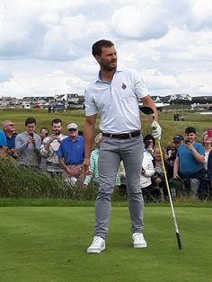Jamie attends the DDF Irish Open in Portstewart, Ireland. [July 5th]