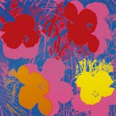 Andy Warhold, Flowers. 1964