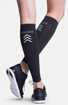 Insignia by Sigvaris 'Sports' Graduated Compression Performance Calf Sleeve (Online Only) available at #Nordstrom