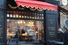 Paul...a coffee shop chain in french style...
