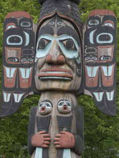 Tlingit Chief Johnson pole-Ketchikan