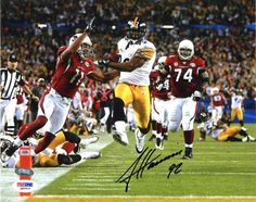 James Harrison Autographed 8x10 Photo - PSA/DNA #SportsMemorabilia #PittsburghSteelers