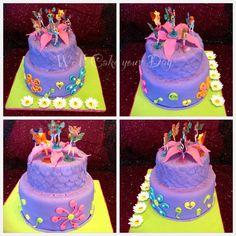 Winx fairy club cake