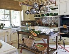 French Provincial Kitchen by Shannon Bowers (photo by Nathan Schroder)