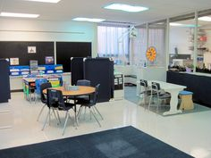 Pictures and video of a special education classroom: organizational ideas and more
