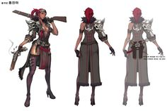 B&S character artworks