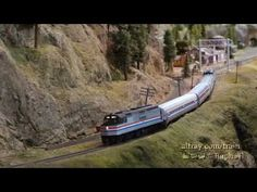 Demonstration of the Amtrak passenger train automation at the Randall Museum, HO-Scale Model Train Layout, formerly the Golden Gate Model Railroad Club layou. Model Train Layouts, Ho Scale, Model Trains, Beautiful Models, Golden Gate, Scale Models, Shots, Museum, Youtube
