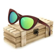 BOBO BIRD Wood Sunglass Mens Sports Top brand Designer Glasses  mirror colorful with Wooden Gift Box Men's Accessories Awesome Summer Natural Wooden Sunglasses Shops Fashion Styles  Website