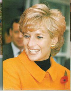 Princess Diana à Liverpool - Novembre 1995