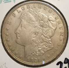 1921 -S Morgan Dollar - Silver Dollar Coin - Uncirculated U.S.  Coinage  - Key Mint - Great Deal - Gift - Coins - Collection - Jewelry - by EarthlyCrystals33 on Etsy
