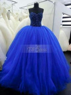 quinceanera dresses ball gowns 2015 sexy new heavy beading dark blue ball … – Women Fashion Long Prom Gowns, Ball Gowns Prom, Pageant Gowns, Ball Dresses, Evening Dresses, Quince Dresses, Royal Blue Prom Dresses, Blue Ball Gowns, Princess Prom Dresses