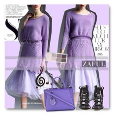 """ZAFUL"" by elly-852 ❤ liked on Polyvore featuring Rika, Benzara, Fendi and zaful"