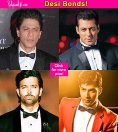 Salman Khan Shah Rukh Khan Varun Dhawan  7 Bollywood actors who could swirl a mean martini if James Bond goes desi!