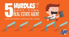 5 Hurdles of a Part Time Real Estate Agent #realestateagents #parttimeagents