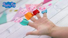 Peppa Pig Fingerpuppen Polly Pocket, Peppa Pig, Creations, Diy Ideas, Kid Crafts, Children, Diys, Awesome Songs, Lego Advent Calendar