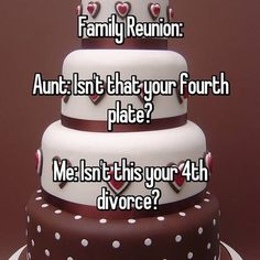 Awkward Things Family Reunions fourth plate