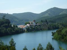 The picturesque aldeia (village) of Dornes, on the Rio Zezere in the middle of the country