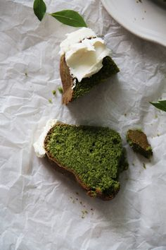 Matcha Green Tea Bundt Cake