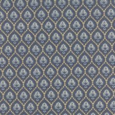 Rue Indienne - Bazar in Indigo by French General for Moda Fabrics by LilyRoseQuilts on Etsy https://www.etsy.com/transaction/1102718000