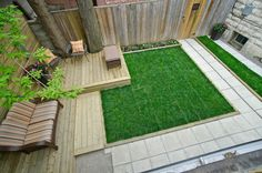 Get More From Your Small Backyard - contemporary landscape by Re:Placement Design
