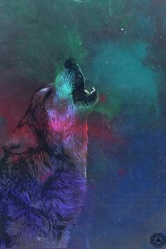 Wolf in Space iPhone Wallpaper by Cooprah on deviantART