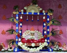 Thakurji Jhula Swing Decoration Pictures Pictures for free download