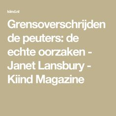 Grensoverschrijdende peuters: de echte oorzaken - Janet Lansbury - Kiind Magazine