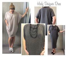 Hedy Designer Dress - Tiled PDF Pattern for Instant Download by Style Arc