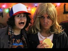 YouTube stranger things costume tutorial