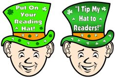 This reading bulletin board display for St. Patrick's Day and March comes with a leprechaun reading sticker chart, matching 5 page bulletin board display banner, and a matching award certificate.