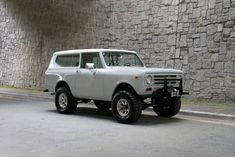 Motorcar Studio is pleased to offer this 1972 International Harvester Scout II. This Scout shows as an attractive driver with good options and many recent. International Scout Ii, International Harvester, Winch Bumpers, Model Scout, Off Road Adventure, Gray Interior, Ih, Scouts, Colorful Interiors