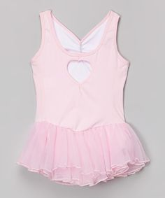 Look at this Danshuz Pink Skirted Leotard - Toddler & Girls on #zulily today!