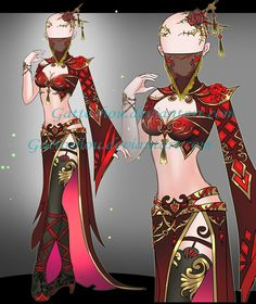 Outfit ADOPT 154 [Auction] [CLOSED] by GattoAdopts.deviantart.com on @DeviantArt