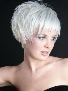 Short Choppy Hairstyles for Women için resim sonucu