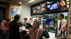 KFC Purbalingga Kfc, Flat Screen, Blood Plasma, Flatscreen, Plate Display