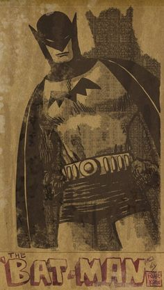 Batman - laseraw.deviantart.com