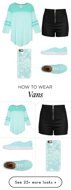 """Untitled #240"" by anna-diva-clara on Polyvore featuring Love Moschino, Vans and Casetify"
