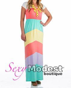 Ariana Spring Maxi Dress