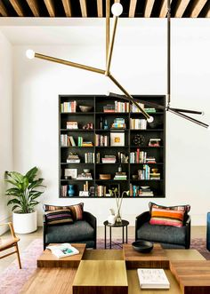 9 Home Libraries We All Want to Curl Up in This Weekend via @MyDomaine
