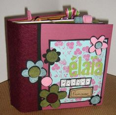 septembre 2008 – Edwige Bufquin Mini Albums Scrapbook, Mini Album Tutorial, Book Making, Scrapbooking Ideas, Minis, Display, Cards, Photos, Crafts