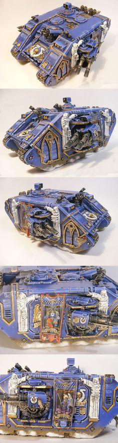 Marneus Calgar Ultramarine Land Raider