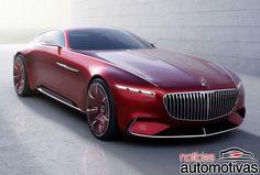 Novo Vision Mercedes-Maybach 6 aparece em primeiras imagens oficiais - Notícias Automotivas