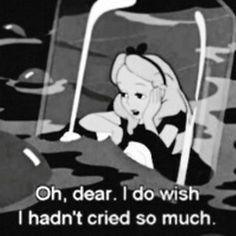Oh , querido , ojala no hubiera llorando tanto