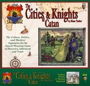 The Cities & Knights of Catan (Settlers of Catan expansion...LOVE it!)